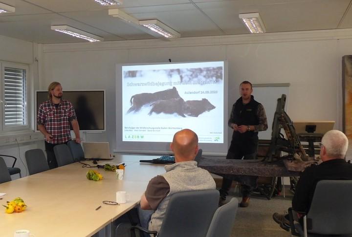 Schwarzwildbejagung,Seminar,Berufsjäger,Wildforschungsstelle,WFS